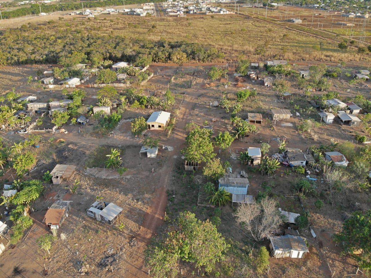 Invasão Antigo lixão Canarana 3
