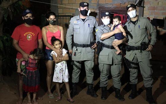 Reprodução Policia Militar