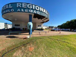 A ampliação da Ala UTI Covid do Hospital Regional Paulo Alemão está pronta. Agora cabe à Vigilância Estadual liberar o prédio.