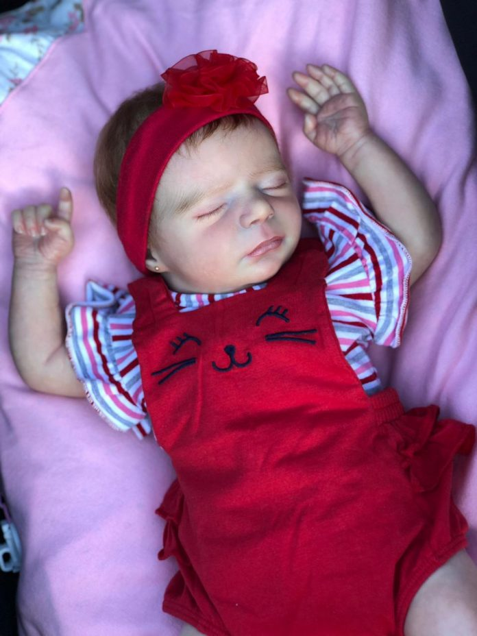 Boneca Reborn Alice por @nayara_reborn